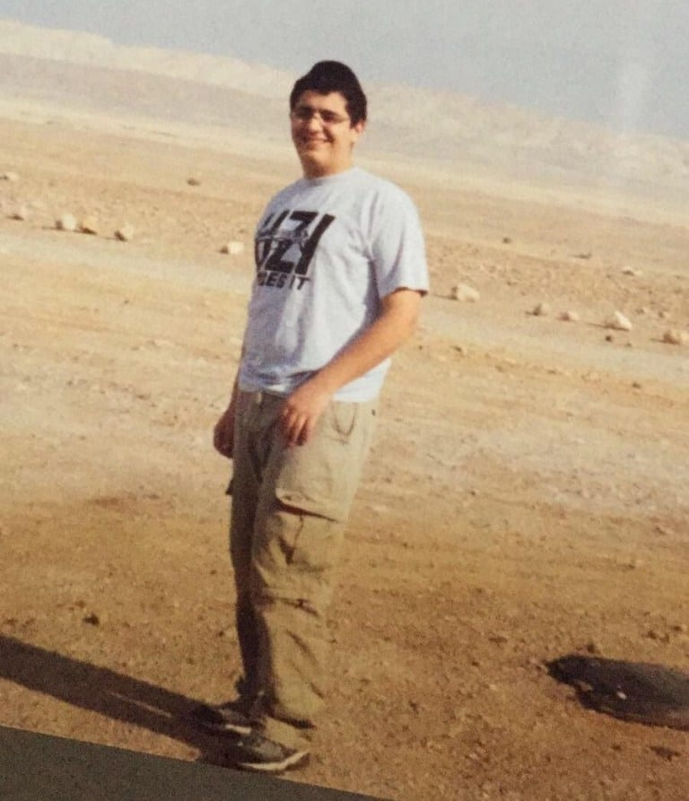 David Addi at the beach